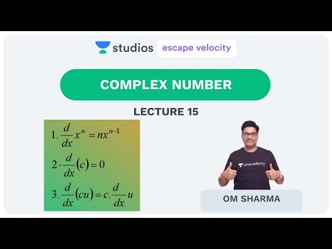 L15: Complex Number (Nth Root Of Unity) | Maths For IIT-JEE | Om Sharma