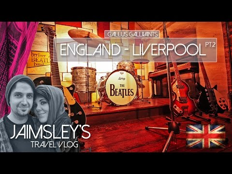 ENGLAND - LIVERPOOL Pt 2 - ALL BEATLES LOCATIONS  & Met Cathedral
