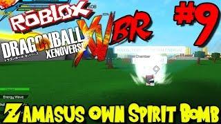 ZAMASU'S OWN SPIRIT BOMB!   Roblox: Dragon Ball Xenoverse BR - Episode 9