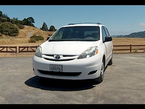 Wonderful 2006 Toyota Sienna LE In Depth Review   YouTube