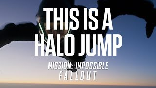 Mission: Impossible - Fallout (2018) - HALO Jump Stunt Behind The Scenes Paramount Pictures India