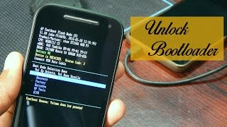 How to unlock the bootloader of Moto E 2nd Genration (2015) Safe & Easy!