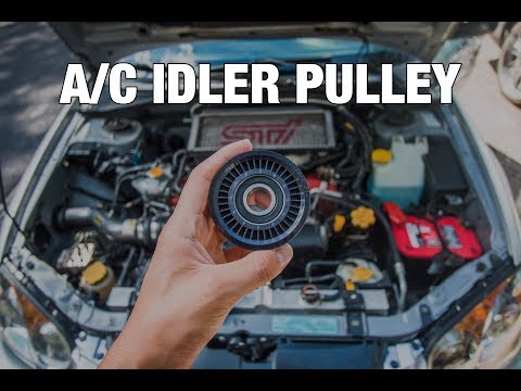 Subaru A/C Idler Pulley Replacement (How To)