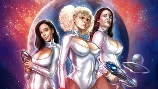 Three women from a faraway galaxy come to Earth in search of sexual...