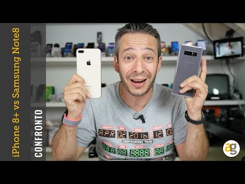 Thumbnail: CONFRONTO iPhone 8 plus vs Samsung Note 8