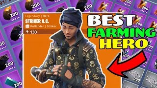 How to get Striker A/C Best Outlander for Farming Fortnite Save the World