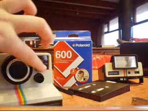 how to put polaroid 600 film in a polaroid 1000 camera youtube rh youtube com polaroid land camera 1000 manuale Polaroid OneStep Land Camera