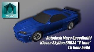 Speed Build - Tomo's R34 GT-R