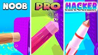 NOOB vs PRO vs HACKER – Log Thrower (iOS)