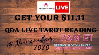 Hey! How are you? Let's read your cards for today! #tarot #livestream
