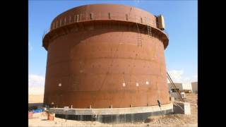 Deha Tech Storage Tank Construction Erection