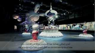 Takashi Murakami - EGO, ALRIWAQ DOHA Qatar 2012.