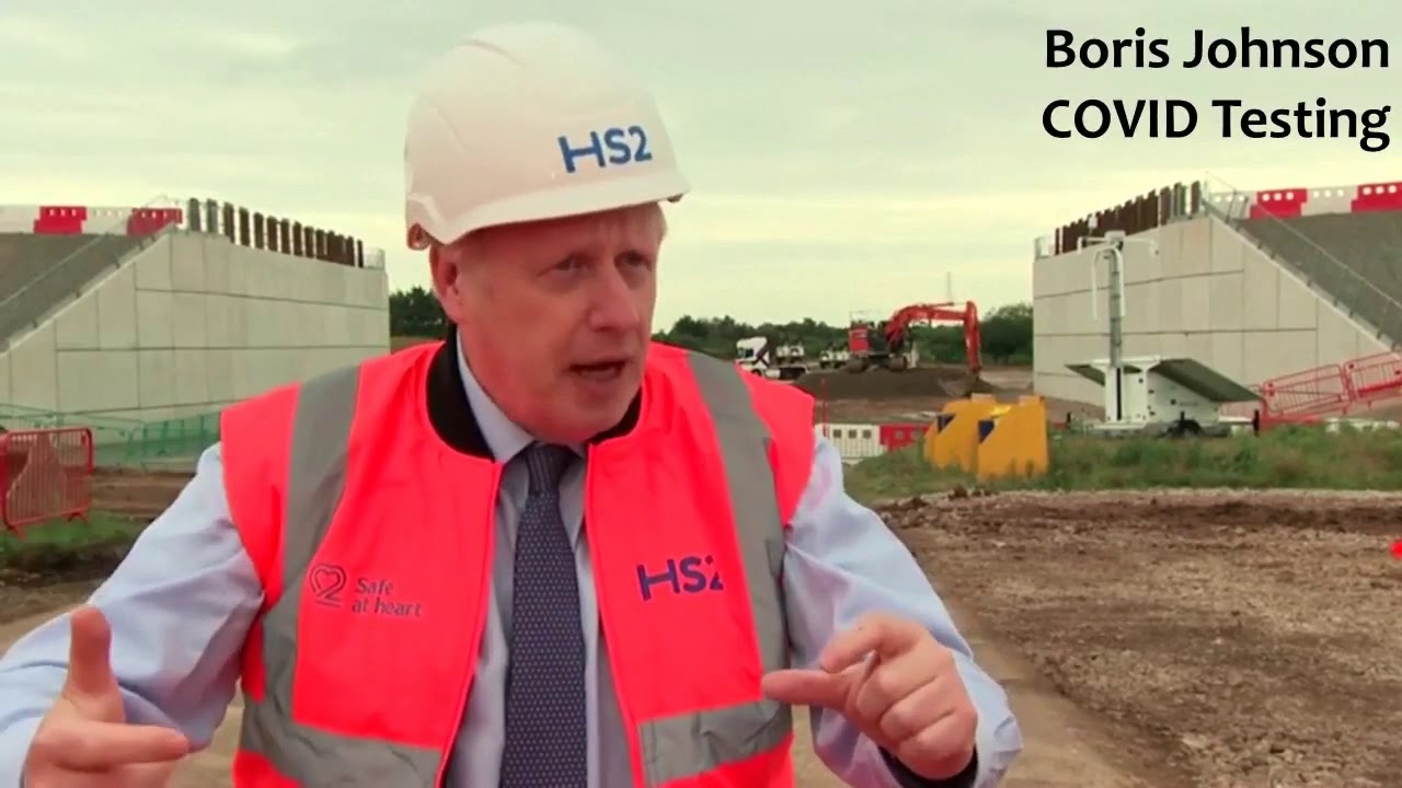 Download Boris Johnson Says CovidbTest is Only 7% Reliabe