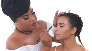 KIM KARDASHIAN WEST MAKEUP TUTORIAL | PatrickStarrr thumbnail