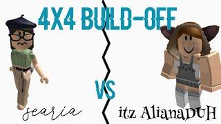 casa 4x4 Build-off w/itz AlianaDUH-Roblox//searia