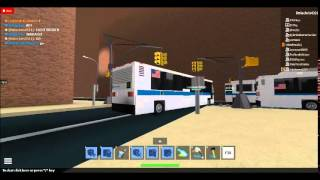 ROBLOX MTA Buses Movie: Chapitre 10 [The New C40LF Buses]