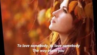 Gambar cover Bonnie Tyler-To love somebody (cover Bee Gees)