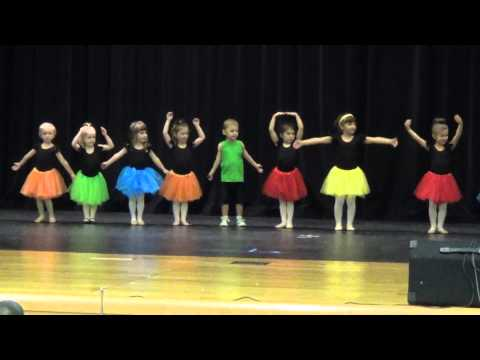 It's a Small World, Beginning Dance, Y Dance Recital Aug 201