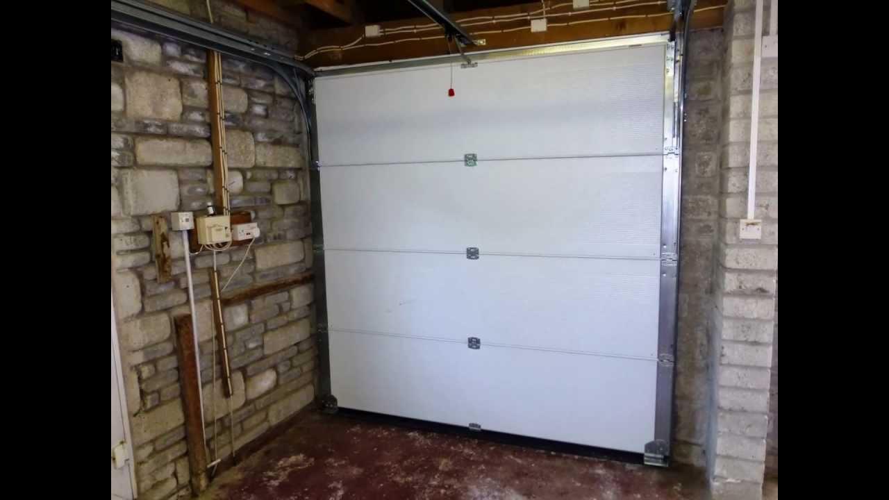Sectional garage door - Henderson G30 Insulated Sectional Garage Door Ultra Electric Opener