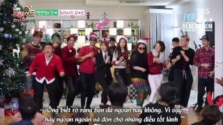 141223 [HD][Roommate] Santa Claus is coming to town ft. JYP