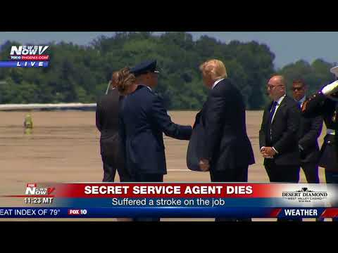 BREAKING: Secret Service Agent Dies In Scotland  President Trump Meets Family