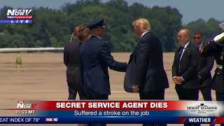 BREAKING: Secret Service Agent Dies In Scotland - President Trump Meets Family