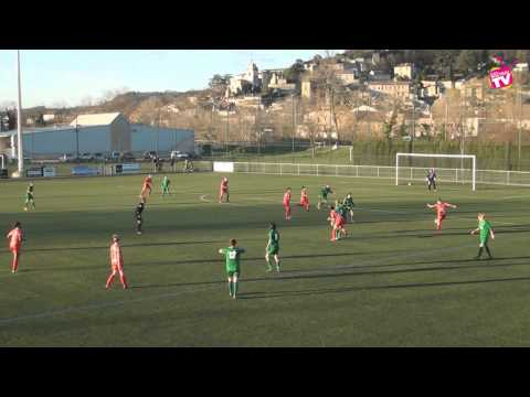 Football Féminin As Véore Montoison vs aurillac Arpajon