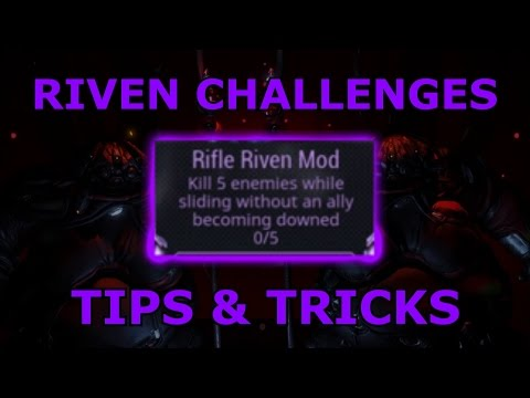 Warframe - Riven Challenges - Tips & Tricks (TWW Spoilers)