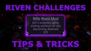 Warframe - Riven Challenges - Tips & Tricks (TWW Spoilers)