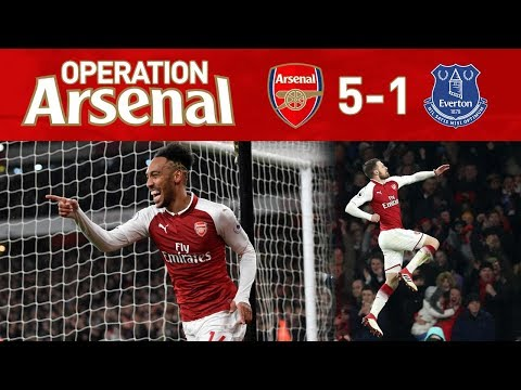 ARSENAL 5-1 EVERTON - WHAT A GAME!!!