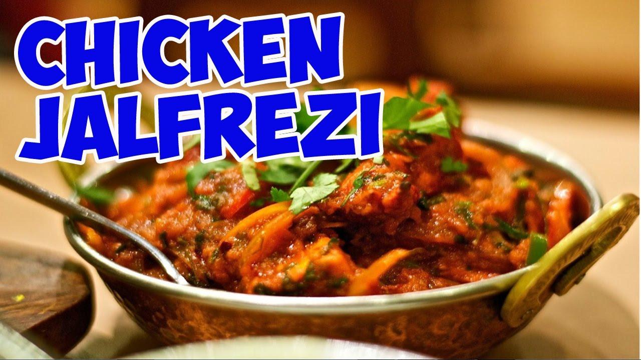 Chicken Jalfrezi  How To Make Chicken Jalfreziansari Kitchen