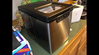 Vremi Countertop Ice Maker Unboxing and Review