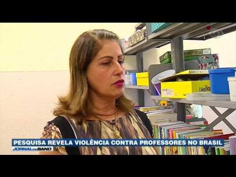 Pesquisa revela violência contra professores no Brasil