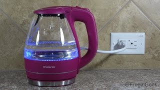 Ovente KG83F 1.5 Liter Cordless Electric Kettle Review
