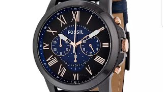 Fossil FS5061 CHRONOGRAPH - review/unboxing