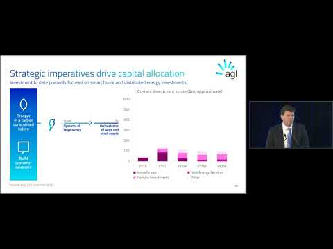 AGL Investor Day 2017: Capital Allocation through Transition