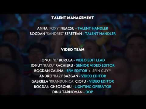 The Kiev Major 2017 Credits