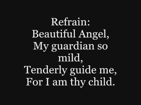 Catholic Hymnal: Guardian Angel from Heaven so bright.