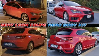 Seat Leon Coupe \\ Aero Body Kit \\ Detailing