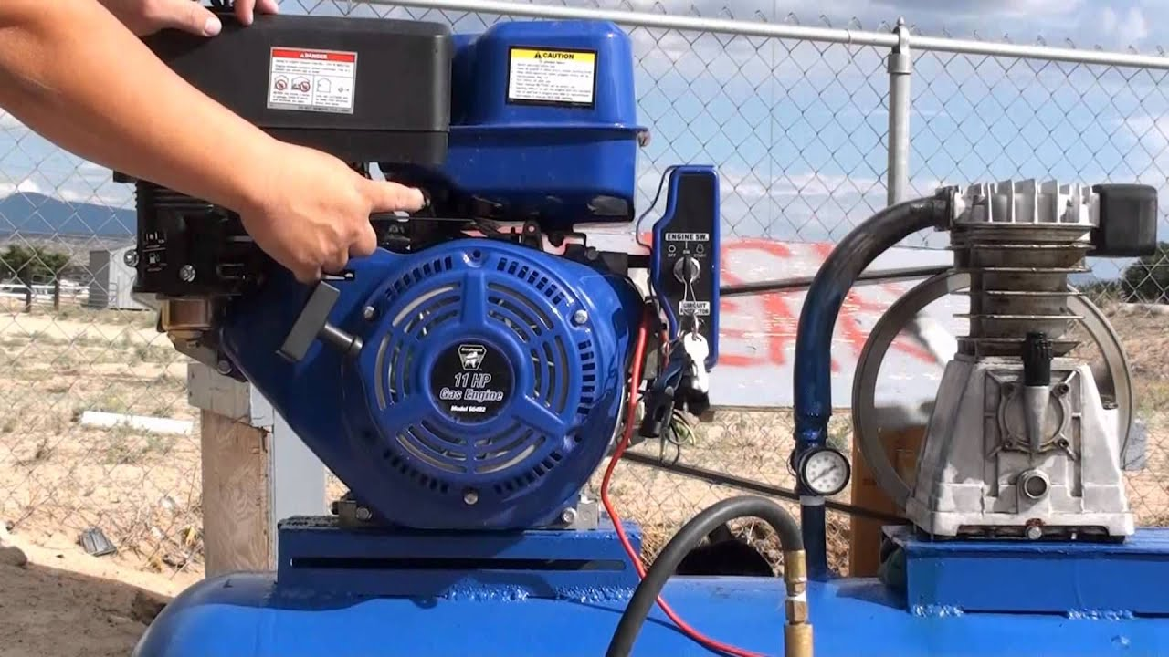 Home Made Air Compressor Youtube