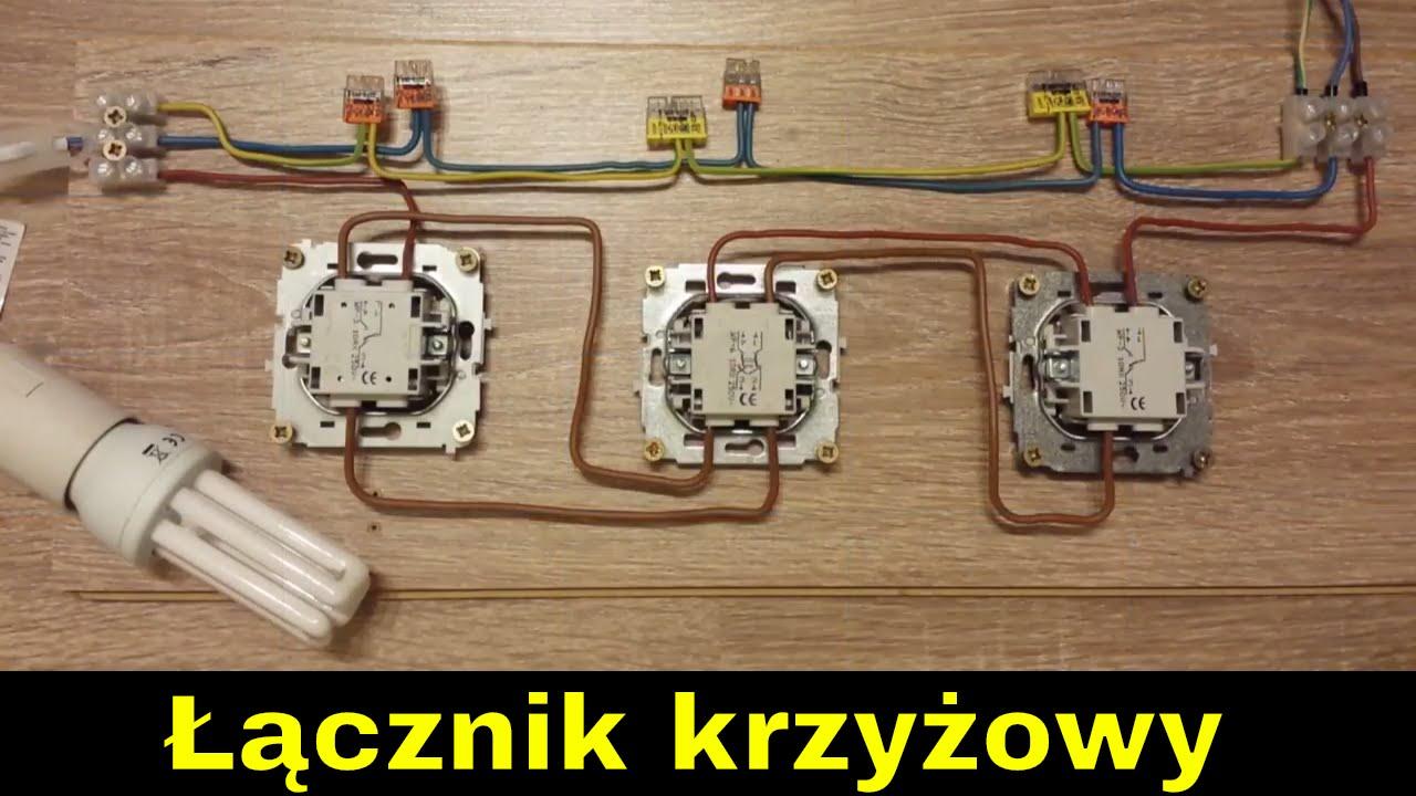 jak podłączyć trzy przełączniki