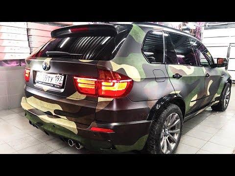 КАМУФЛЯЖ на BMW X5M. Своими руками
