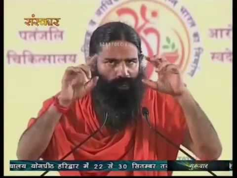Yoga For Eye Problems By Baba Ramdev Youtube