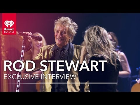 Don Action Jackson - Rod Stewart Live Interview From The Iheartradio Theater