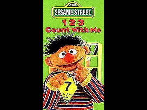 Opening To Sesame Street:123 Count With Me 1997 VHS