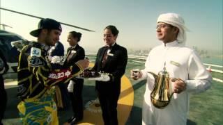Red Bull X-Fighters 2012: Dany Torres all'Al Burj Al Arab di Dubai