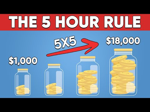 Why All Millionaires Follow The 5 Hour Rule