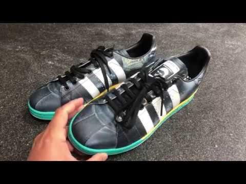 Raf Simons X Adidas   Samba - YouTube