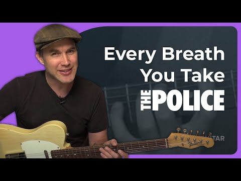 How to play Every Breath You Take  The Police Guitar Lesson SB224
