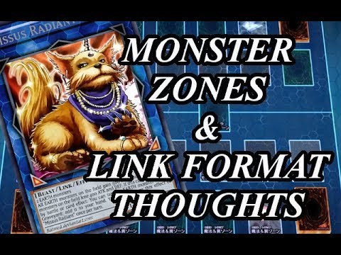 Monster Zones & Link Format Thoughts